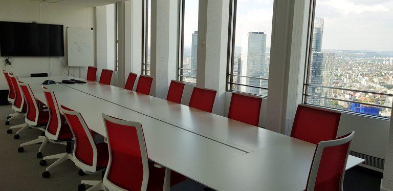 Une salle de conseil